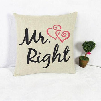 Perfect Couple Cushion Pillow Cover