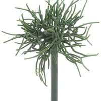"""Faux Pencil Cactus Succulent Pick in Grey Green - 9"""" Tall"""