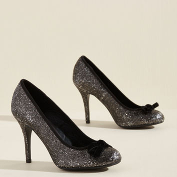 Set to Shimmer Glitter Heel