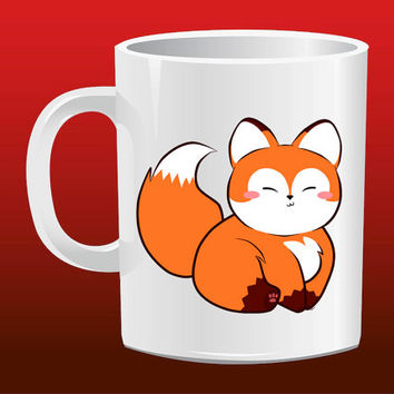 Little Fox for Mug Design