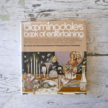 Vintage The Bloomingdale's Book of Entertaining by bergenhouse