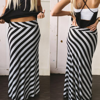 Friday On My Mind Maxi Skirt - Piace Boutique