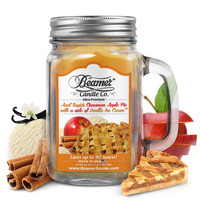 AUNT SUZIE'S CINNAMON APPLE PIE WITH A SIDE OF VANILLA ICE CREAM 12oz candle