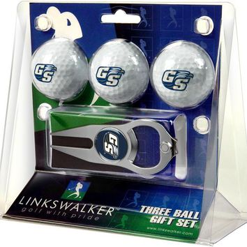 Georgia Southern Eagles 3 Ball Gift Pack with Hat Trick Divot Tool