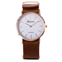 Hot Vintage Fashion Quartz Classic Watch Round Ladies Women Men wristwatch On Sales = 4673093188