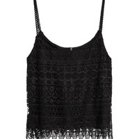 Lace Camisole Top - from H&M