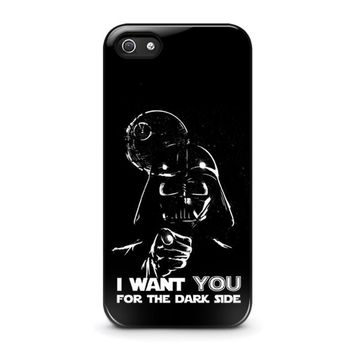 star wars darth vader iphone 5 5s se case cover  number 1