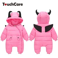 Little Devil Infant Romper Jumpsuits Winter Outerwear