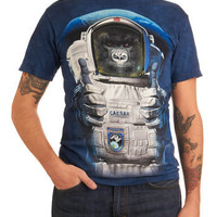 $19.99 Houston, We Have a Primate Tee | Mod Retro Vintage Mens SS Shirts