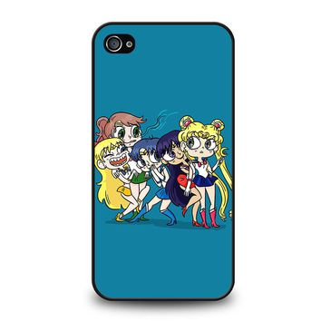 SAILOR MOON FUNNY iPhone 4 / 4S Case Cover