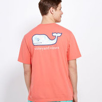 Shop Men's T-Shirts: Map Whale Graphic Pocket T-Shirt for Men - Vineyard Vines