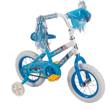 12 Inch Disney Finding Dory Bike Bicycle with Training Wheels, Tricycle