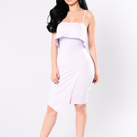 A Real One Dress - Lilac
