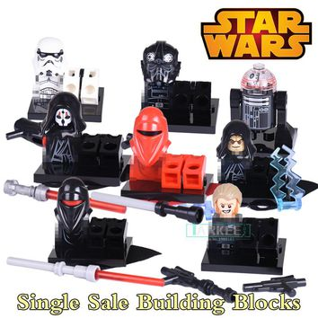 Star Wars Black Shadow Stormtroopers Kallus R5D4 Robot Building Blocks Children Classic Models Bricks Kids DIY Toys Hobbies Gift