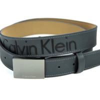 Calvin Klein Belt Black & Gray Rubber Like