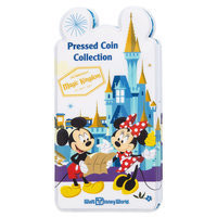 Mickey Mouse and Friends Pressed Coin Collection Holder - Walt Disney World
