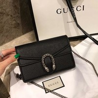 Gucci Dionysus Black Mini Bag