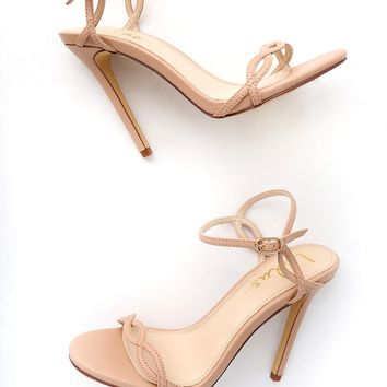 Nadine Nude Dress Sandals