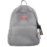 Menghuo 2017 Women Korean Mesh Backpack Bookbag School Bag Summer Teenage Girls boys Lovers Backpack Transparent Bolsas Mochila