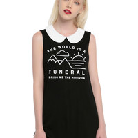 Bring Me The Horizon Funeral Collared Girls Tank Top