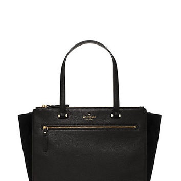 Kate Spade Matthews Drive Suede Holland Black ONE