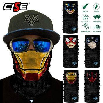 Deadpool Dead pool Taco  Seamless Scarf Neck Gaiter Face Mask Bandana for Motorcycle Bicycle Cycling Outdoor Scarves Sun Windproof Head Shield AT_70_6