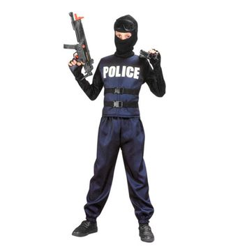 Boys Swat Team/Police Costume