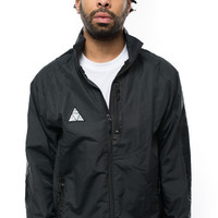 Huf, All Set Track Jacket - Black