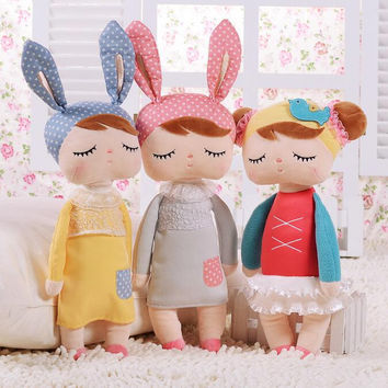 Angela rabbit dolls 34cm baby plush toy doll sweet cute lovely stuffed toys Dolls for kids girls Birthday Christmas Gift