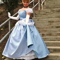 Cinderella New 2012 Park Style Swirl Gown Dress by Bbeauty79