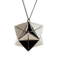 Big Magic Ball - Black silver | Origami Jewellery