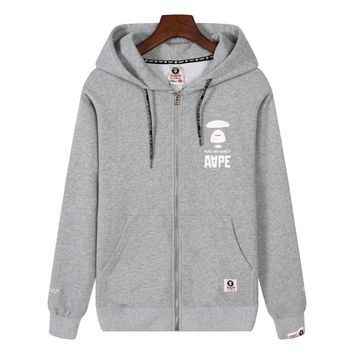 Men Hats Winter Men's Fashion Stylish Zippers Hoodies [211448004620]