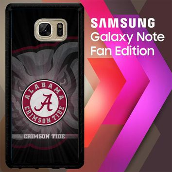 Alabama Crimson Tide G0099 Samsung Galaxy Note FE Fan Edition Case