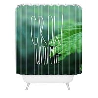 Leah Flores Grow 3 Shower Curtain