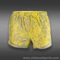 nike tennis short, Nike Womens Printed Tempo Short 455702-711