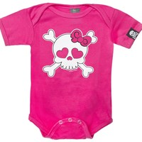 GIRLY SKULL ONE PIECE - One Pieces - Kids