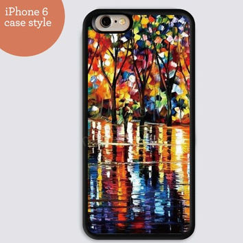 iphone 6 cover,watercolor Rain Road woods iphone 6 plus,Feather IPhone 4,4s case,color IPhone 5s,vivid IPhone 5c,IPhone 5 case Waterproof 276