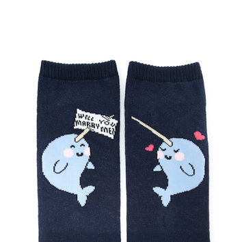 Will You Marry Me Socks