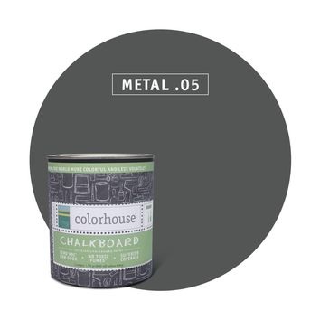 Chalkboard Paint by Colorhouse METAL .05