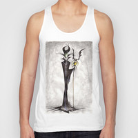 Maleficent Unisex Tank Top by Jena Sinclair
