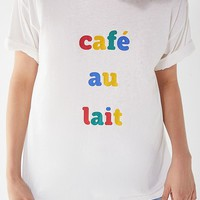 Future State Cafe Au Lait Tee | Urban Outfitters