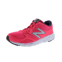 New Balance Womens Mesh Lace Up Running Shoes