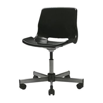 SNILLE Swivel chair, black - black - IKEA