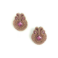 Pink Francesca Earrings