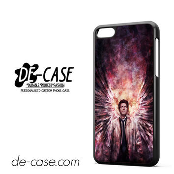 Supernatural Castiel Art Man For Iphone 5C Case Phone Case Gift Gift Present
