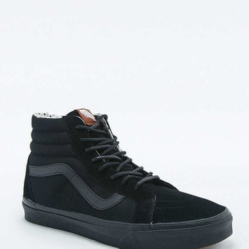 Vans SK8-Hi Black Suede Reissue Trainers - Urban Outfitters