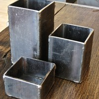 Steel Vessels, set of 3.