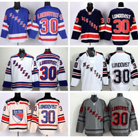 New York Rangers 30 Henrik Lundqvist Jerseys Ice Hockey Stadium Series Lundqvist Rangers Jersey Winter Classic Navy Blue White Beige Camo