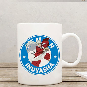 Inuyasha Starbucks Anime Manga Ceramic 11oz Mug