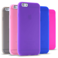 Hot Candy Colors TPU Phone Cases for  Apple iPhone6 4.7 / 6s Plus 5.5